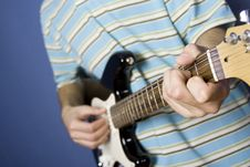 Guitar Player Royalty Free Stock Photos