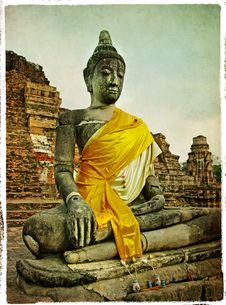 Free Buddha Statues Royalty Free Stock Image - 13829666