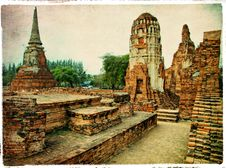 Free Ancient Ayutthaya -Thailand Stock Photography - 13829742