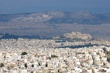 Free Athens General View Stock Photography - 13829862