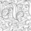 Free Seamless Grunge Abstract Twirl Pattern Stock Photography - 13835142