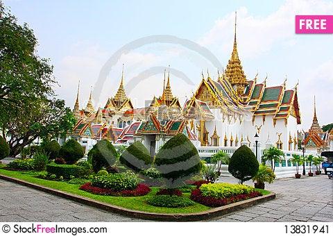 Free Grand Palace Stock Image - 13831941