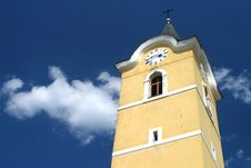 Free Church Tower Stock Image - 13830041