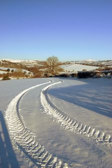 Free Tracks Stock Images - 13830054