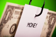 Free Catch The Money! Stock Photography - 13830622