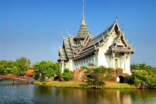 Free Thai Architecture Stock Photography - 13830722