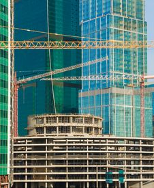 Free Skyscraper Under Construction Royalty Free Stock Images - 13830949