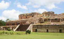 Free Royal Palace Ruins In Mexico Stock Photos - 13830973