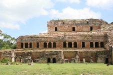 Free Royal Palace Ruins In Mexico Stock Photo - 13831000