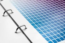 Free Color Scale Chart Stock Images - 13831564
