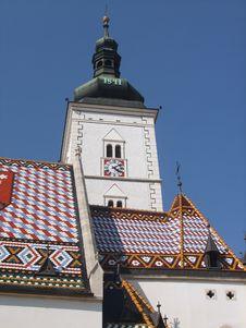 Free Zagreb, St. Marko Stock Photography - 13831622