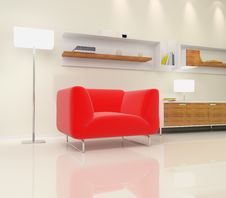 Free Interior Of The Room Royalty Free Stock Images - 13831939