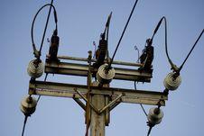 Free Electric Pole Stock Photos - 13832173