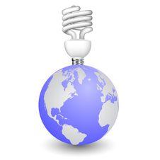 Vector Globe Royalty Free Stock Photo
