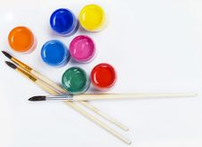 Free Brushes And Paints Stock Photography - 13832692