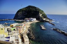 Free Italian Island Sant Angelo Stock Photos - 13833003