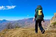 Free Hiking Royalty Free Stock Images - 13833019