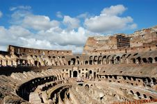 Free The Mighty Colosseum Stock Photo - 13833730