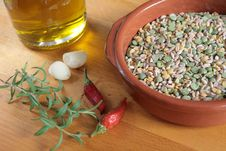 Free Bowl Of Mixed Legumes Stock Image - 13833961