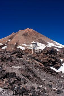 Free Tenerife Volcano Royalty Free Stock Photography - 13834827