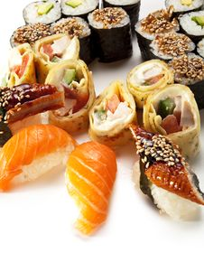 Free Sushi Set Stock Image - 13835261