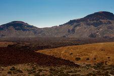 Free Tenerife Volcano Royalty Free Stock Photo - 13835365