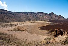 Free Tenerife Volcano Royalty Free Stock Image - 13835416