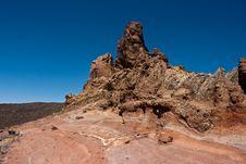 Free Tenerife Volcano Stock Image - 13835441