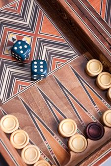 Free Backgammon Stock Images - 13835514