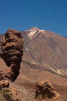 Free Tenerife Volcano Royalty Free Stock Image - 13835516