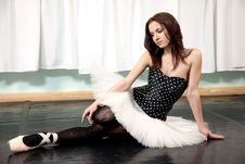 Free Female Ballet Dancer Stock Photography - 13836252