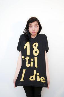 18  Til I Die Stock Image
