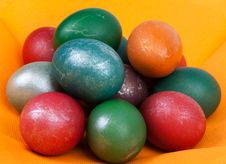 Free Easter Dyed Egg Royalty Free Stock Images - 13836569