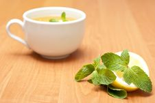 Free Tea With Mint And Lemon Stock Photo - 13837840