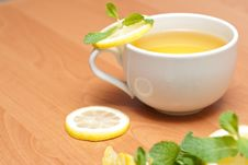 Free Tea With Mint And Lemon Royalty Free Stock Photos - 13837948