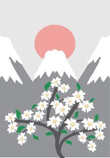 Free Japanese Style Illustration Royalty Free Stock Image - 13838106