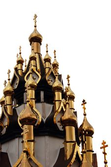 Free Domes Of Christian Church Royalty Free Stock Photo - 13838275