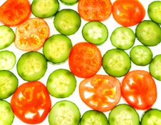 Free Tomatoes And Cucumber Stock Photos - 13838503