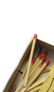 Free Match Sticks Royalty Free Stock Photo - 13838985