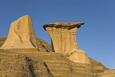 Free Badland Hoodoos Royalty Free Stock Photos - 13839448