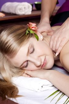 Free Massage Stock Image - 13839641
