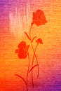 Free Wonderful Poppies On The Canvas. Stock Images - 13846734