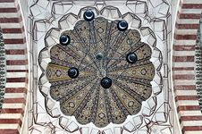 Dome Detail Of Selimiye Mosque Royalty Free Stock Photos