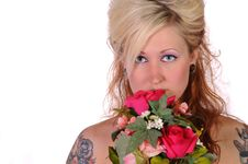 Free Tattoed Woman 3 Stock Photo - 13841680