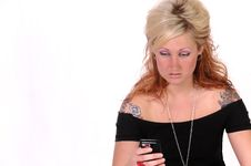 Free Tattoed Woman 6 Stock Photo - 13841690