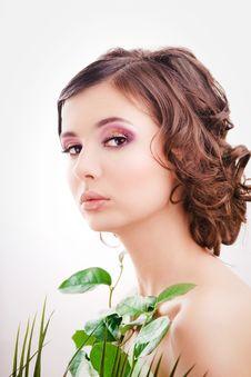 Free Pretty Girl Portrait Stock Photography - 13842692
