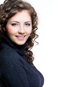 Free Portrait Of Smiling Woman Stock Photos - 13842843