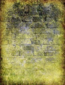 Grunge Brick Wall Royalty Free Stock Photos