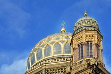 Free The Jewish Synagogue In Berlin I Royalty Free Stock Photos - 13844828