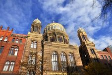 Free The Jewish Synagogue In Berlin II Stock Photography - 13844882